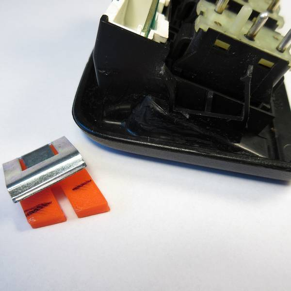 Switch Plate Keeper Kit 964 C2 Lower